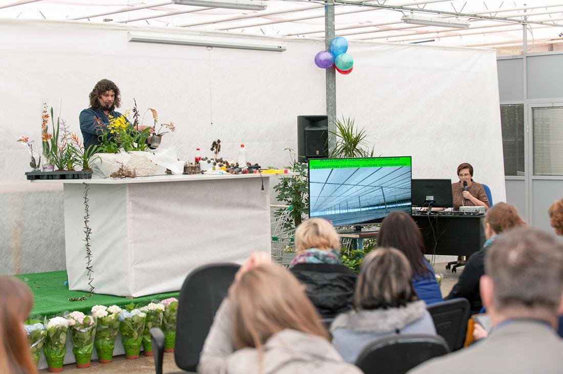 Флористический мастер класс по работе с горшечными растениями